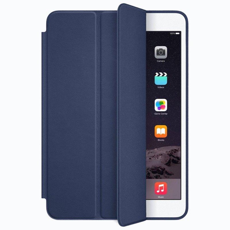 Чехол Apple iPad Mini 3 Smart Case Leather Midnight Blue (MGNW2)