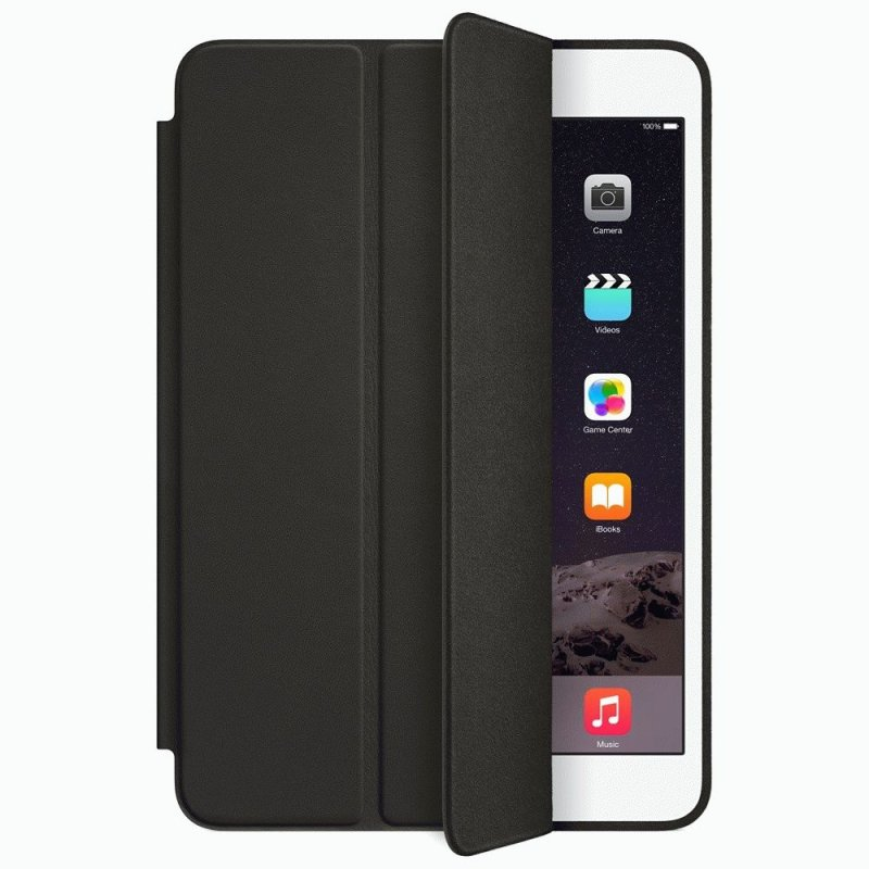 Чехол Apple iPad Mini 3 Smart Case Leather Black (MGN62)