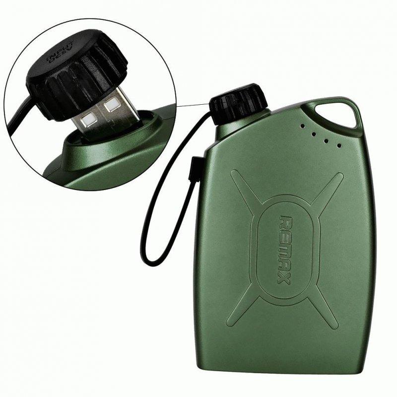 Внешний аккумулятор Remax Gas Station PowerBank 6600 Green