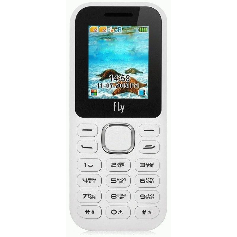 Fly DS104D Dual Sim White