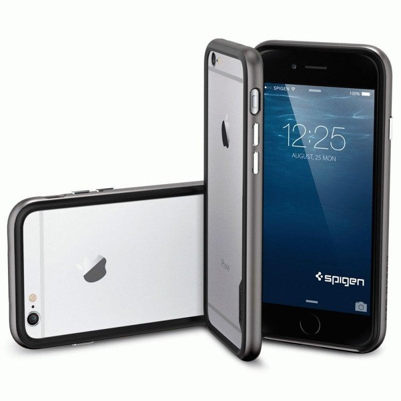 Бампер для iPhone 6 SGP Case Neo Hybrid EX Gunmetal (SGP11024)