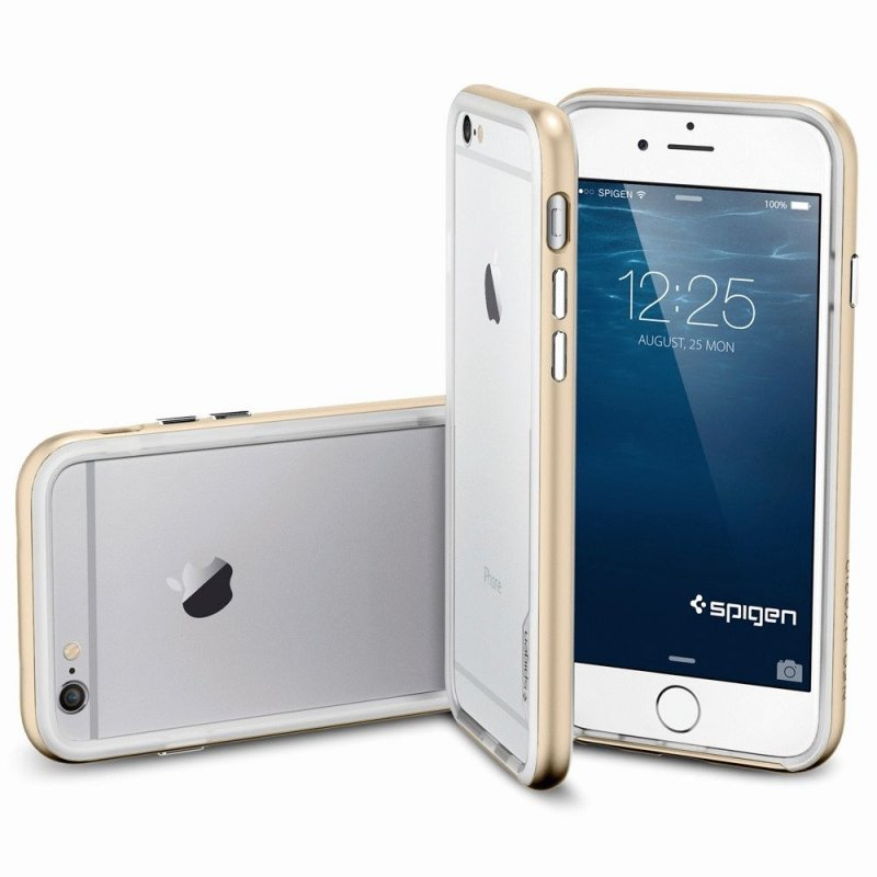 Бампер для iPhone 6 SGP Case Neo Hybrid EX Champagne Gold (SGP11028)