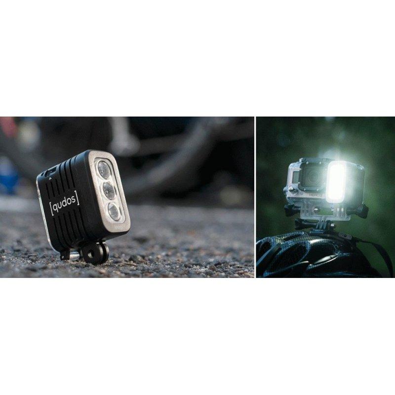 LED фонарь для GoPro Qudos Action Black (11629B)