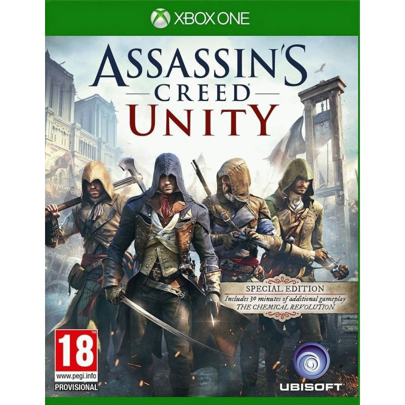 Microsoft Xbox ONE + Kinect 2 + Assassin's Creed Unity + Assassin's Creed BF