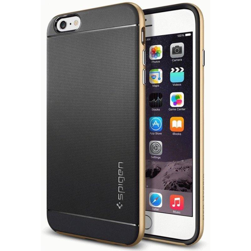 Накладка SGP Case Neo Hybrid для Apple iPhone 6 Plus Champagne Gold (SGP11068)