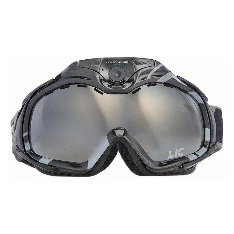 Горнолыжная видеомаска Liquid Image Snow Goggle Apex HD 1080P Black (338BLK)