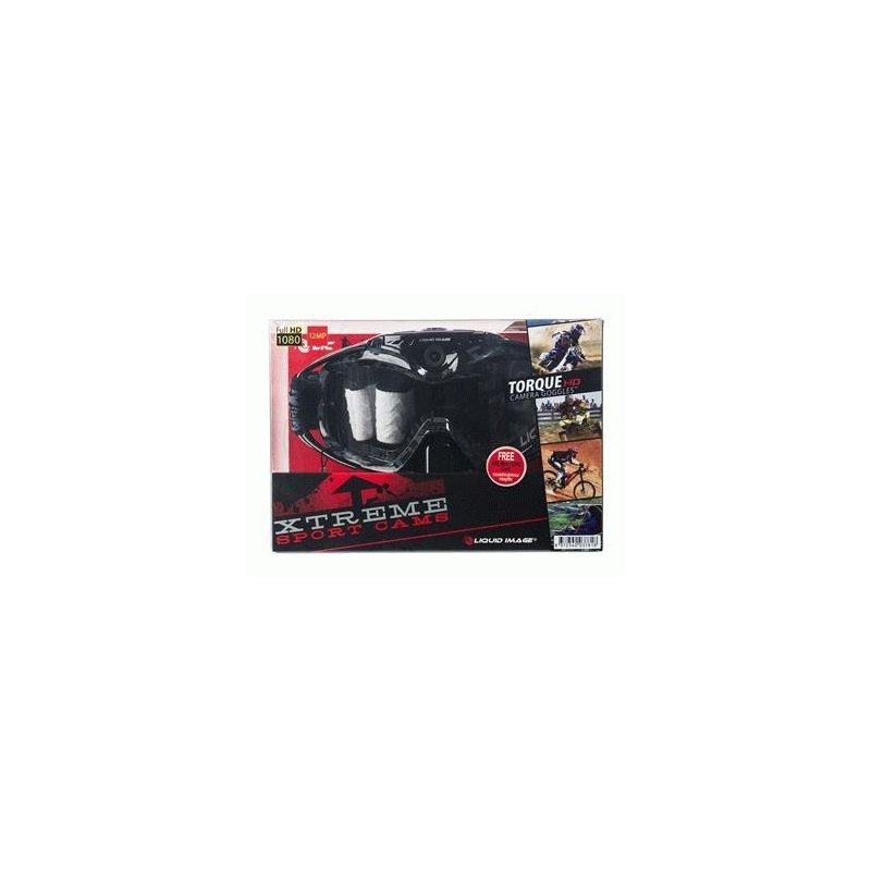 Спортивная видеомаска Liquid Image Torque Offroad Goggle Cam HD 1080P Black (368BLK)