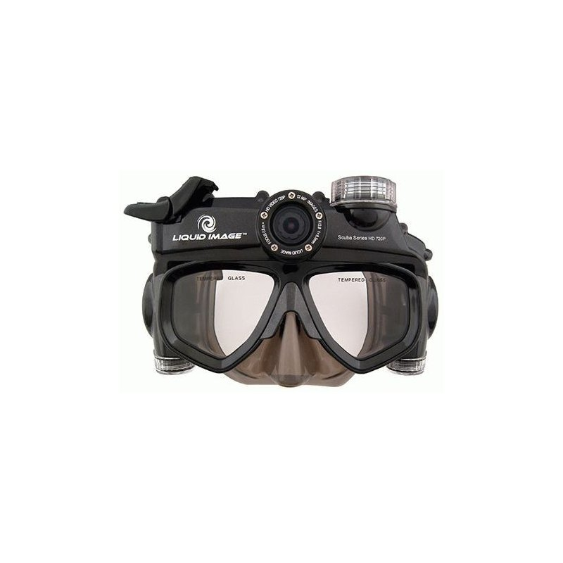 Подводная видеомаска Liquid Image Wide Angle Scuba HD 720P L/XL (319)