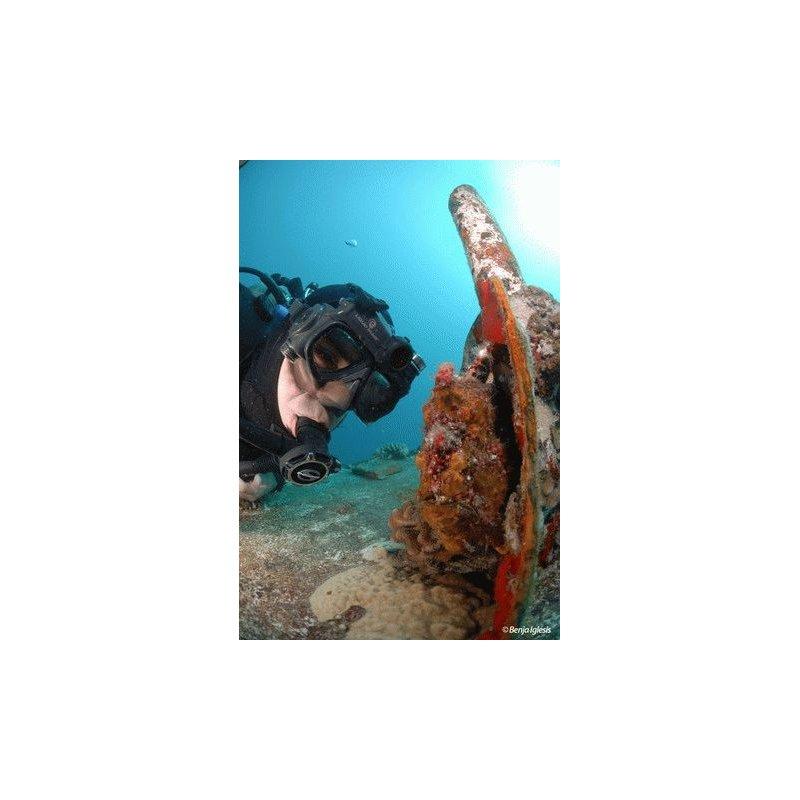 Подводная видеомаска Liquid Image Wide Angle Scuba HD 720P S/M (318)