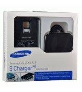Беспроводное зарядное устройство + крышка для Samsung Galaxy S5 G900 Black (EP-WG900IBRGRU)