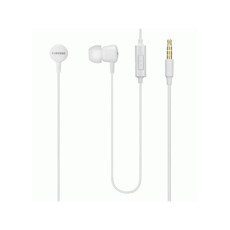 Оригинальные наушники-гарнитура Samsung White (EHS62ASNWECSTD)