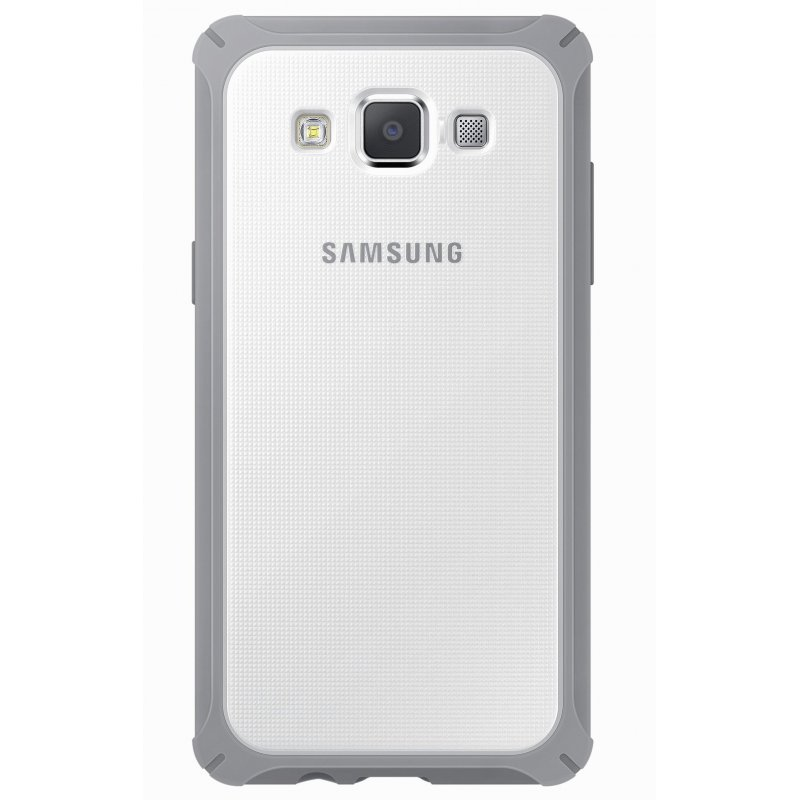 Оригинальный чехол Protective Cover для Samsung Galaxy A5 Duos A500H/DS Light Gray (EF-PA500BSEGRU)