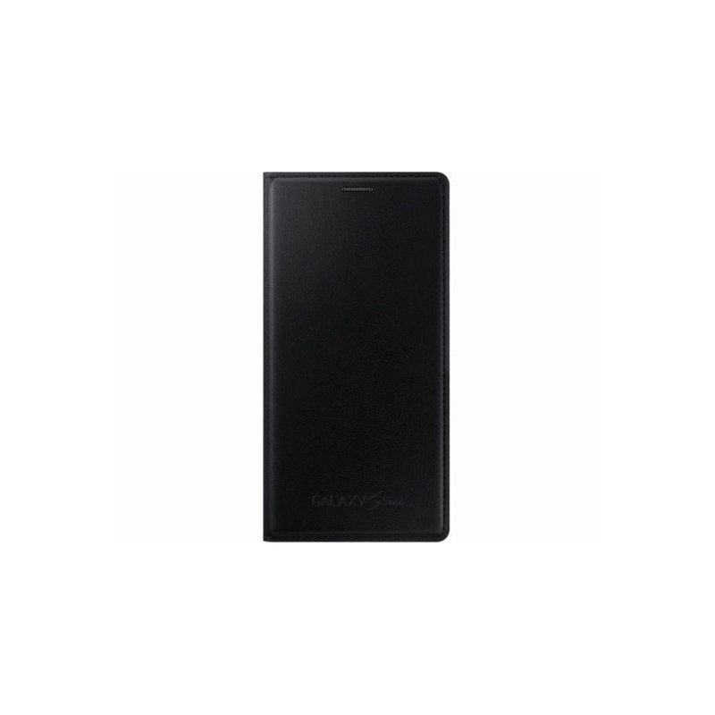 Оригинальный чехол Flip Cover для Samsung G800H Galaxy S5 Mini Duos Black (EF-FG800BBEGRU)