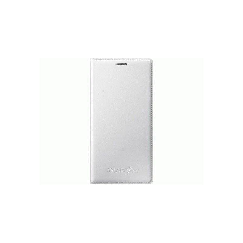 Оригинальный чехол Flip Cover для Samsung G800H Galaxy S5 Mini Duos White (EF-FG800BWEGRU)