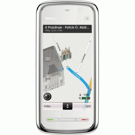nokia-5230-white-chrome-navi