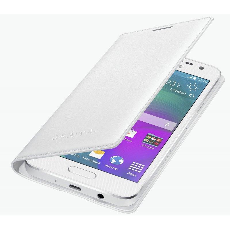 Оригинальный чехол Flip Cover для Samsung Galaxy A3 Duos A300H/DS White (EF-FA300BWEGRU)