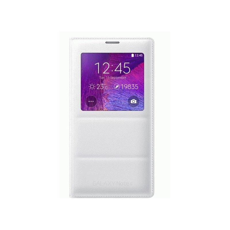 Оригинальный чехол S View для Samsung Galaxy Note 4 N910H White (EF-CN910BWEGRU)