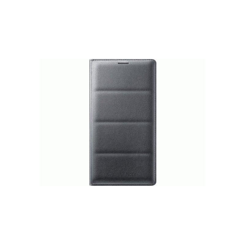 Оригинальный чехол Flip Wallet для Samsung Galaxy Note 4 N910H Charcoal (EF-WN910BCEGRU)