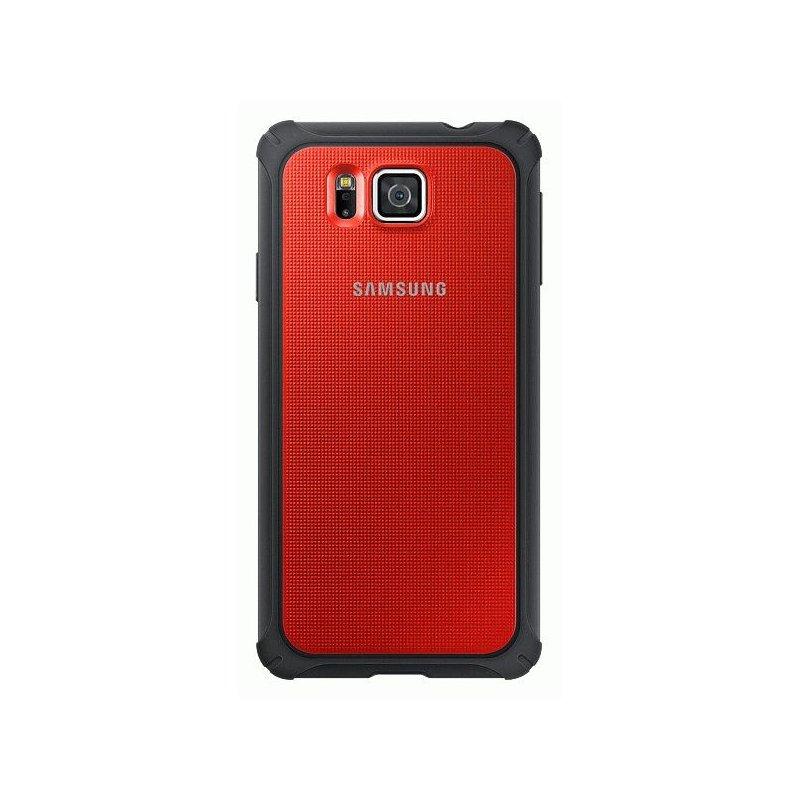 Оригинальный чехол Protective Cover для Samsung G850F Galaxy Alpha Red (EF-PG850BREGRU)