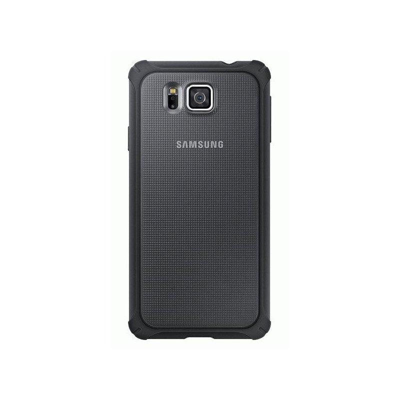 Оригинальный чехол Protective Cover для Samsung G850F Galaxy Alpha Silver (EF-PG850BSEGRU)