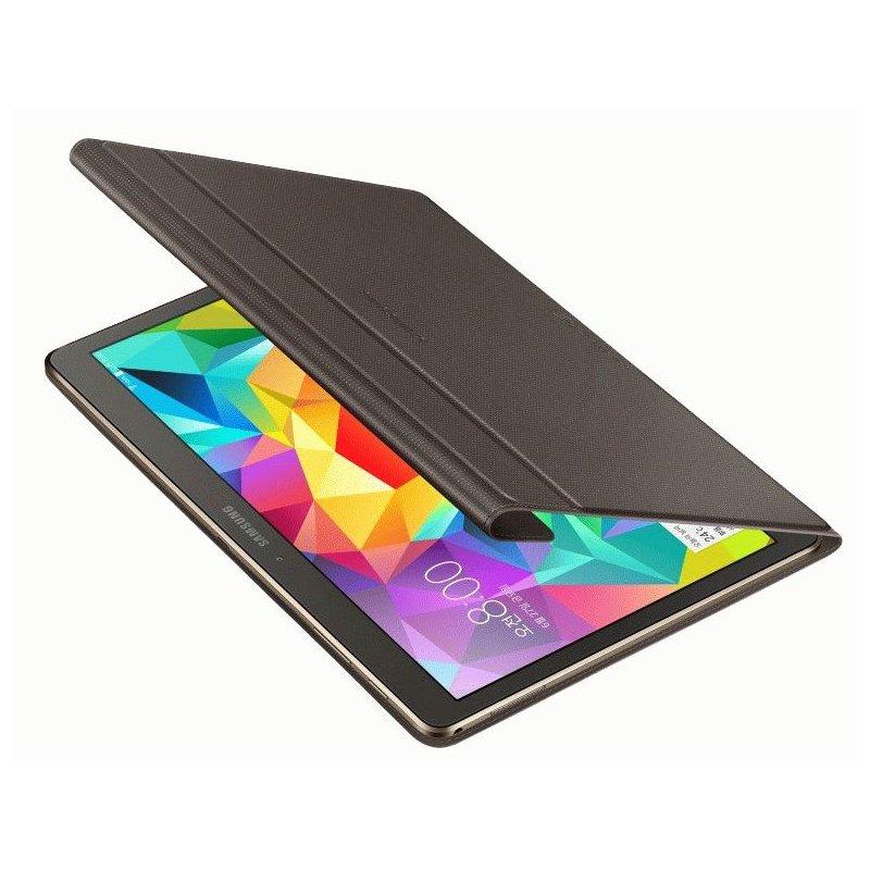 Оригинальный чехол-книжка для Samsung Galaxy Tab S 10.5 SM-T800/T805 Bronze Titanium (EF-BT800BSEGRU)