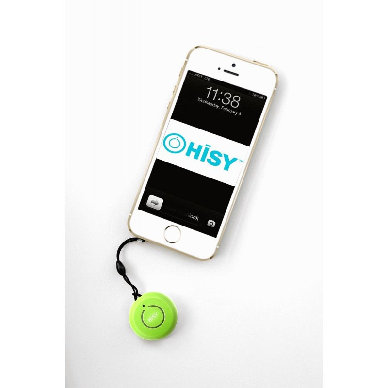 Hisy Bluetooth Camera Remote для Apple Green
