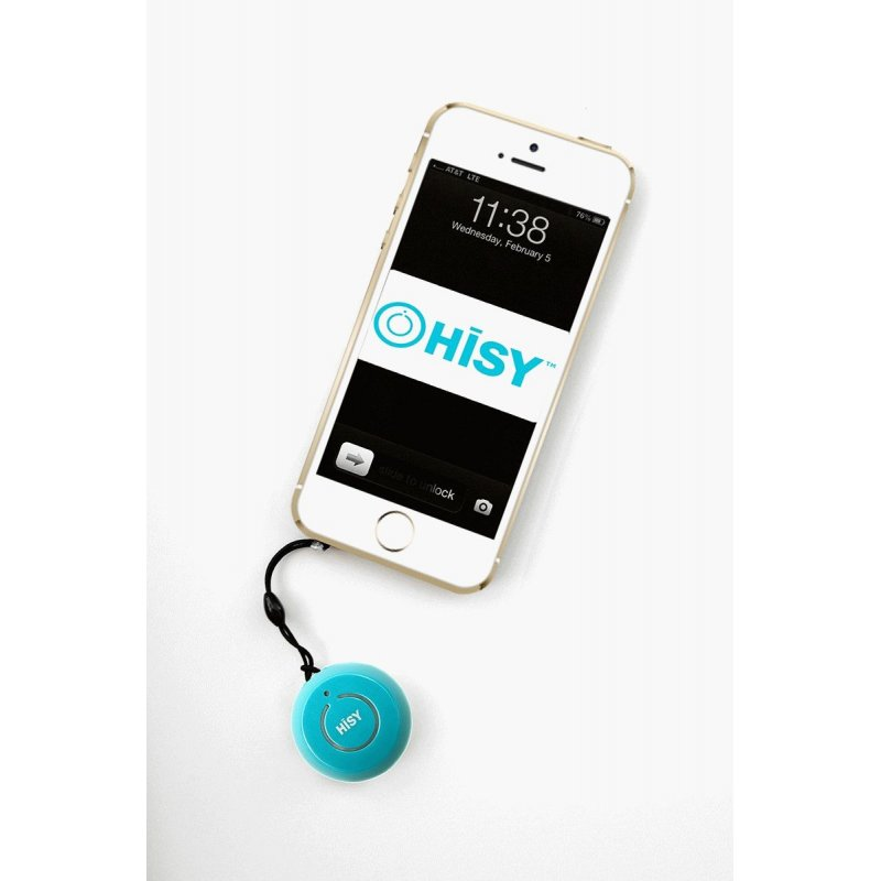 Hisy Bluetooth Camera Remote для Apple Aqua