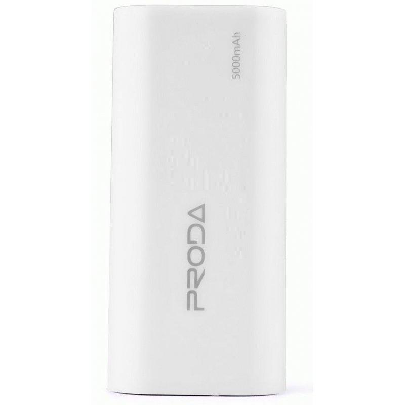 Внешний аккумулятор Proda PowerBox 5000 mAh White