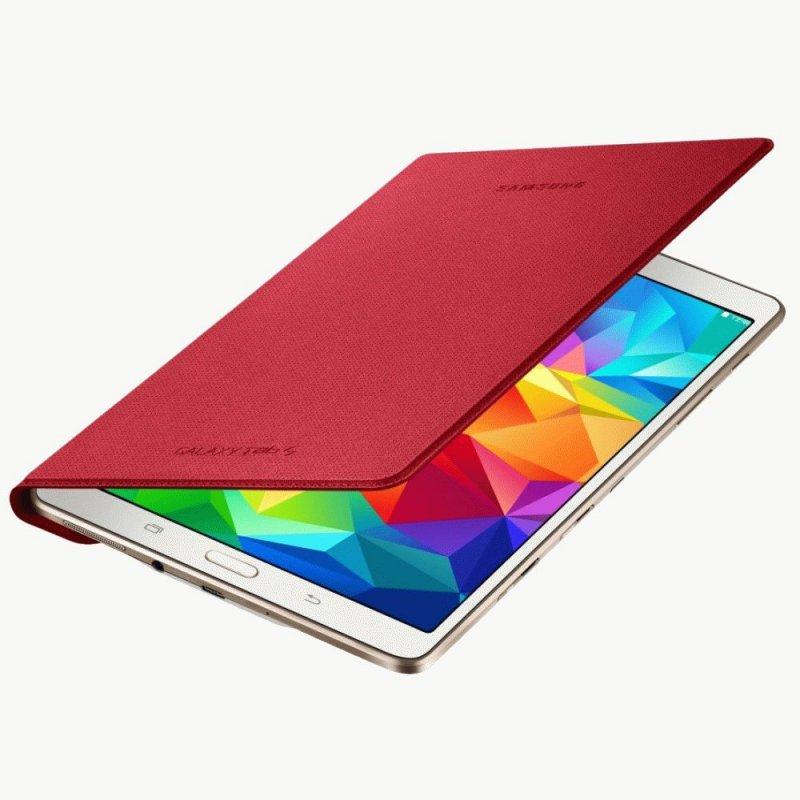 Оригинальный чехол для Samsung Galaxy Tab S 8.4 SM-T700/T705 Red (EF-DT700BREGRU)