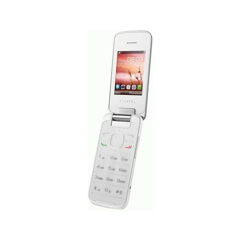 Alcatel One Touch 2010D Dual Sim Pure white