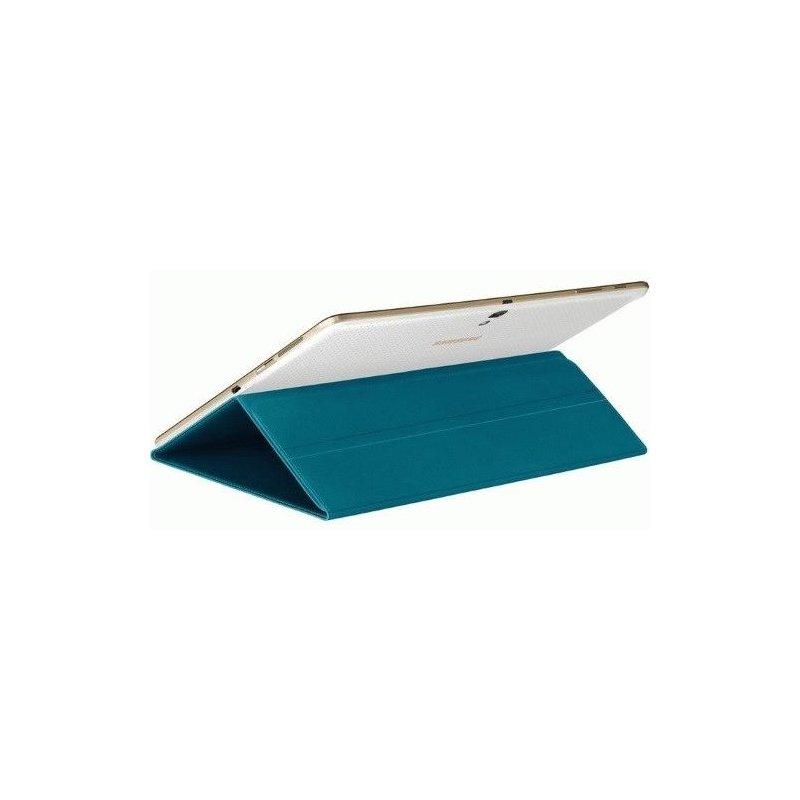 Оригинальный чехол-книжка для Samsung Galaxy Tab S 10.5 SM-T800/T805 Electric Blue (EF-BT800BLEGRU)