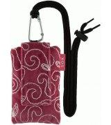 Универсальный чехол для телефона SOX Silk Velvet Embroidery 2 Pink (KAH2 05)