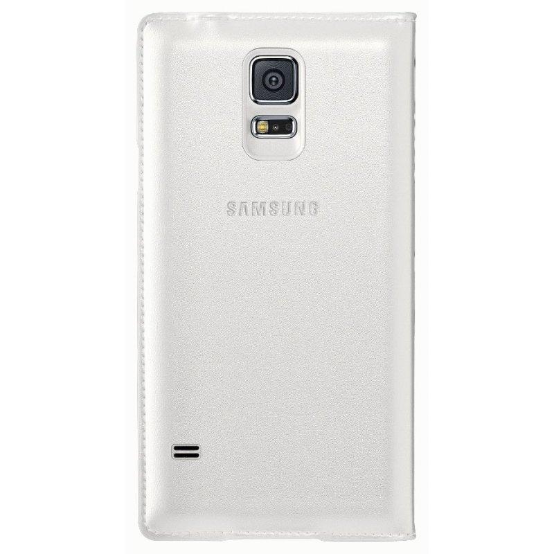 Оригинальный чехол S View для Samsung Galaxy S5 G900 White (EF-CG900BWEGRU)