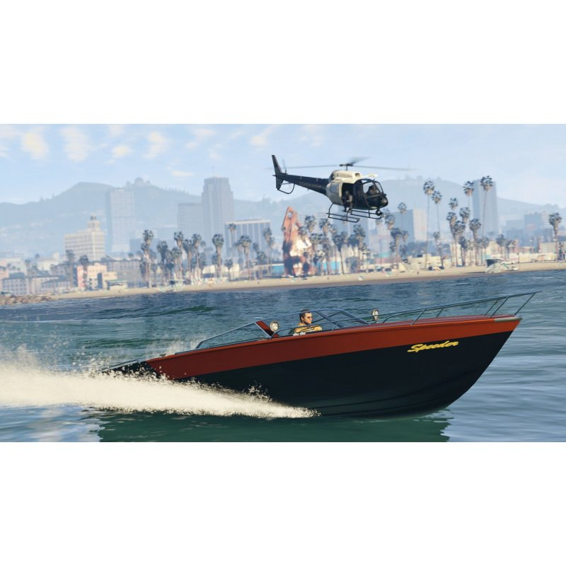 Игра Grand Theft Auto V (GTA 5) для Sony PS 4 (русские субтитры)