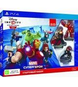 Игра Disney Infinity 2.0: Marvel Super Heroes Стартовый набор для Sony PlayStation 4 (русская версия)