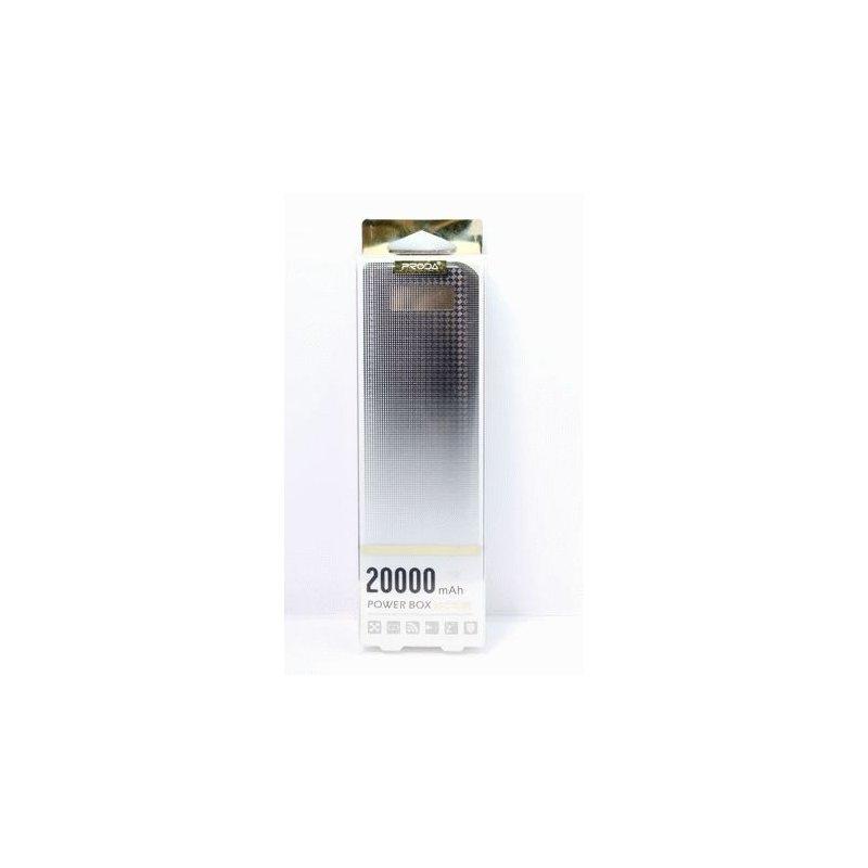 Внешний аккумулятор Remax Proda PowerBox 20000 Black