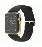 Apple Watch Edition 42mm 18-Karat Yellow Gold Case with Black Classic Buckle (MKL62)