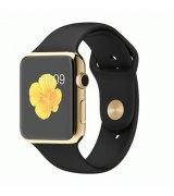 Apple Watch Edition 42mm 18-Karat Yellow Gold Case with Black Sport Band (MJ8Q2)