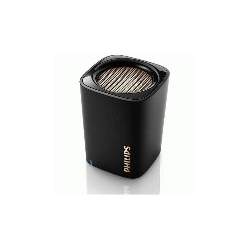 Philips BT100 Wireless Portable Speaker Black (BT100B/00)