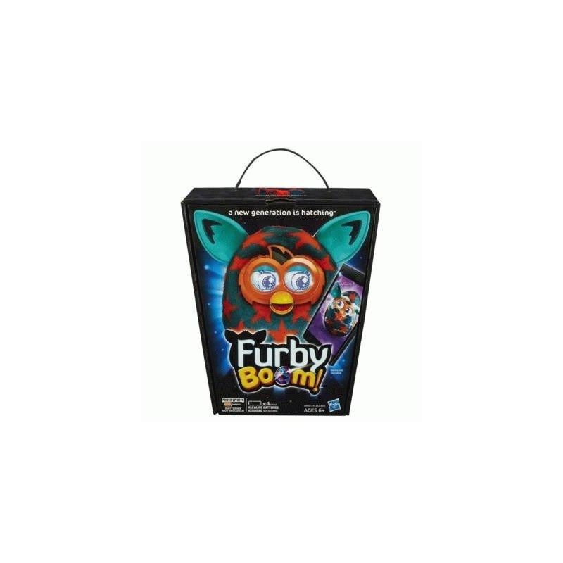 Интерактивная игрушка Furby Boom 04 (Orange Stars)
