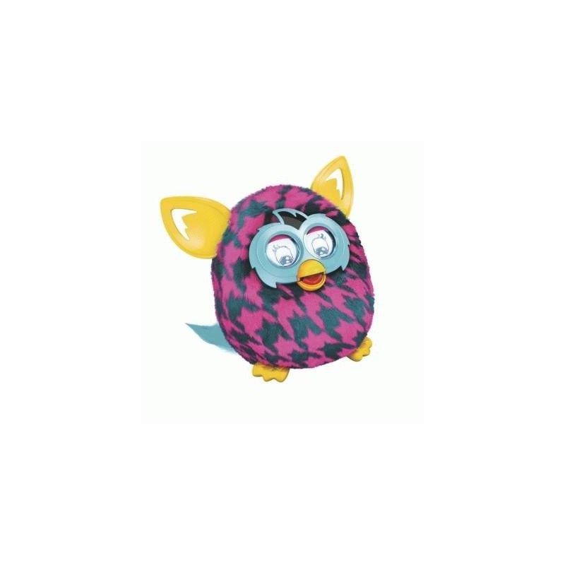 Интерактивная игрушка Furby Boom 06 (Purple Houndstooth)