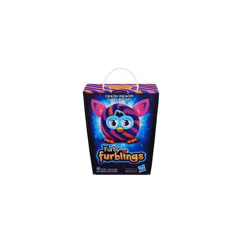 Интерактивная игрушка Furby Furbling 05 (Pink and Blue Houndstooth)