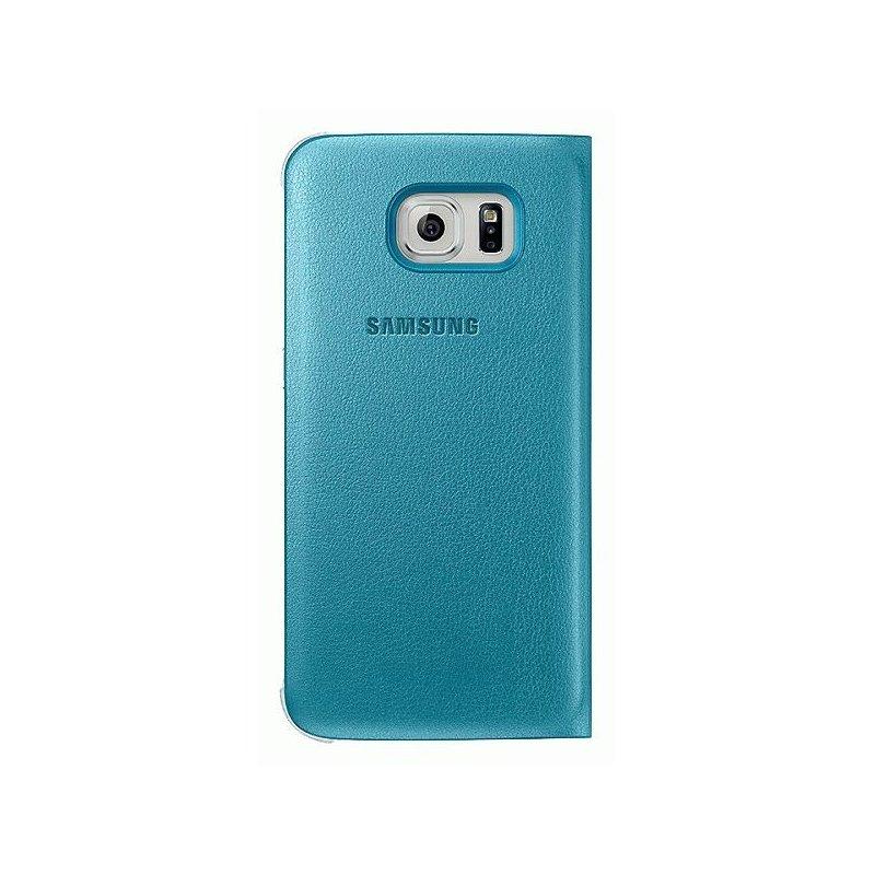 Оригинальный чехол S View для Samsung Galaxy S6 G920 Blue (EF-CG920PLEGRU)