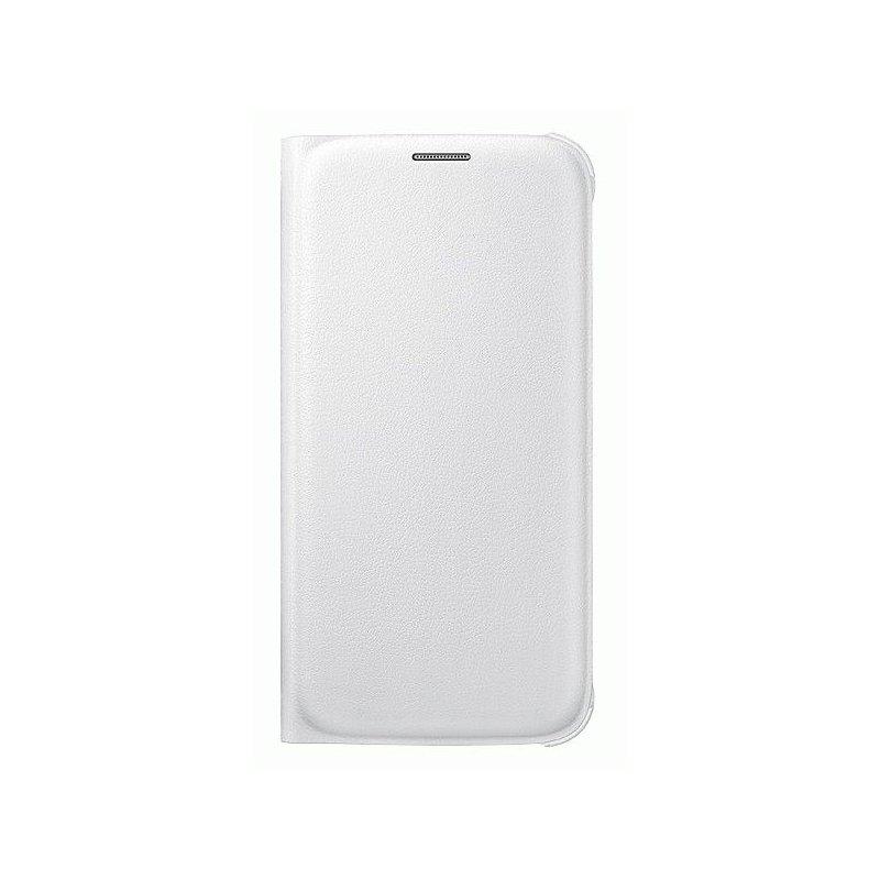 Оригинальный чехол Flip Wallet для Samsung Galaxy S6 G920 White (EF-WG920PWEGRU)