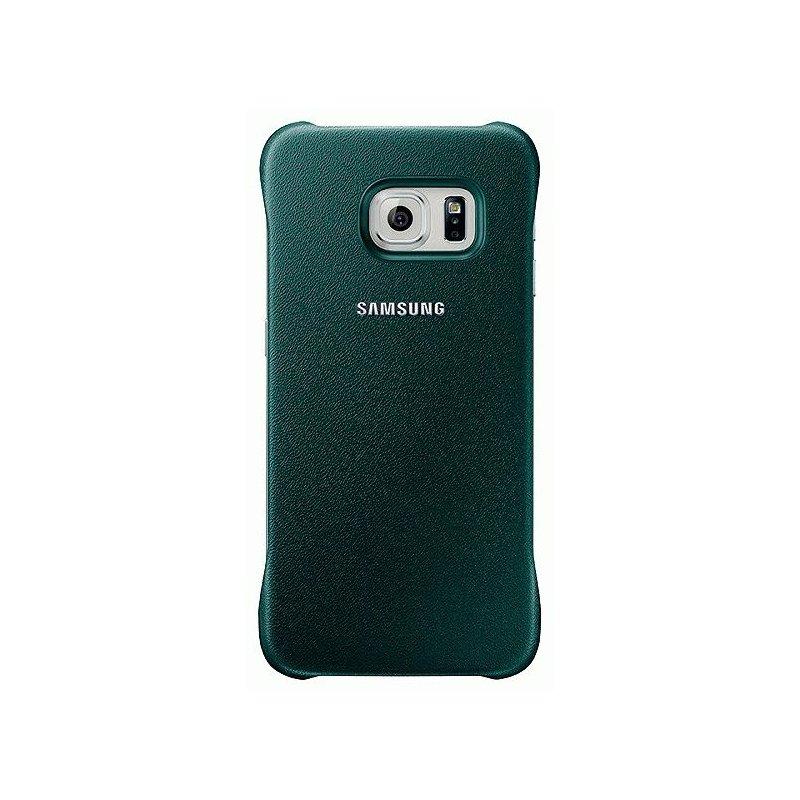Оригинальный чехол Protective Cover для Samsung Galaxy S6 Edge G925F Green (EF-YG925BGEGRU)