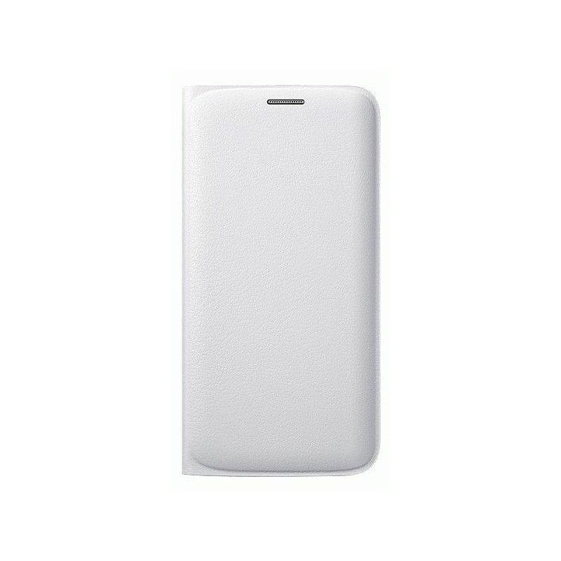 Оригинальный чехол Flip Wallet для Samsung Galaxy S6 Edge G925F White (EF-WG925PWEGRU)