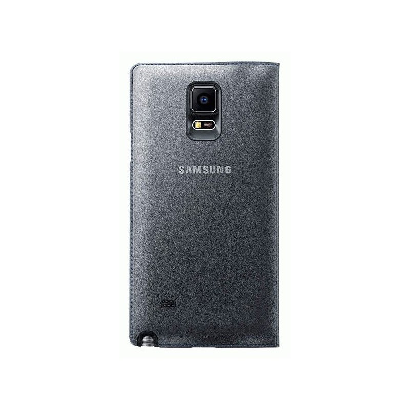 Оригинальный чехол LED Flip Wallet для Samsung Galaxy Note 4 N910H Charcoal (EF-NN910BCEGRU)