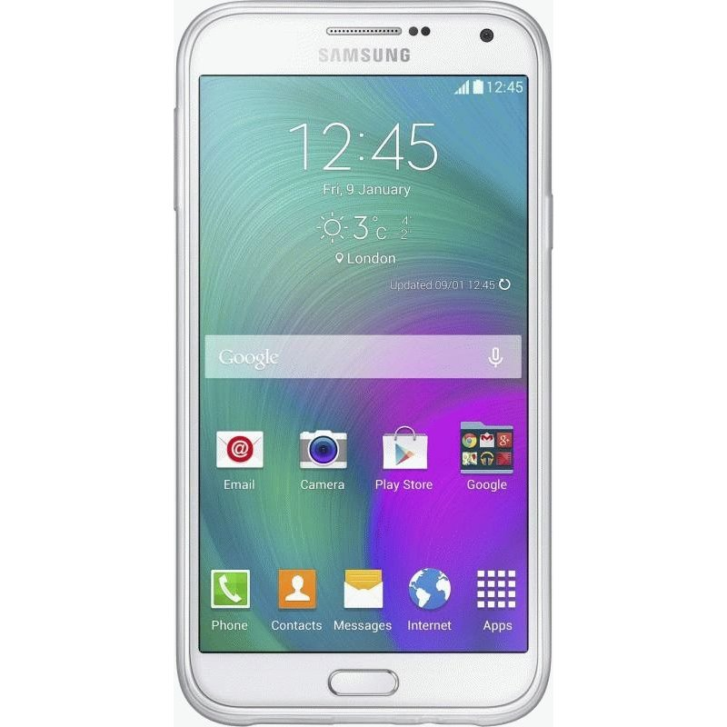 Оригинальный чехол Protective Cover для Samsung Galaxy E5 Duos E500H/DS White (EF-PE500BWEGRU)