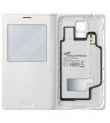 Чехол S View Cover Wireless для Samsung Galaxy S5 G900 White (EP-VG900BWRGRU)