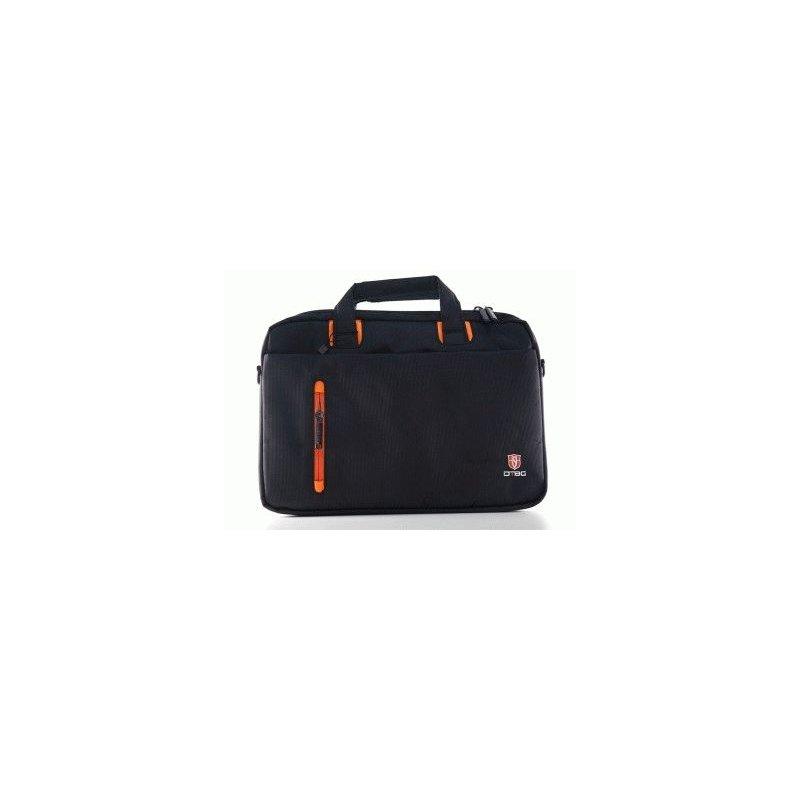 Сумка для ноутбука DTBG D8338BL-13.3 (Black-Orange)